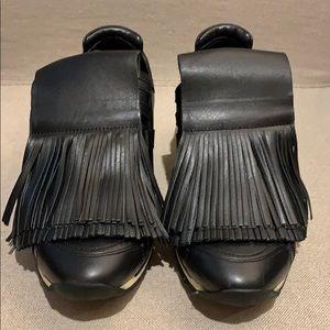Pierre Hardy Black Hook & Loop Sneaker 37